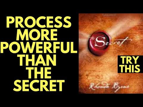 NEW Law of Attraction Process More Powerful Than the Secret