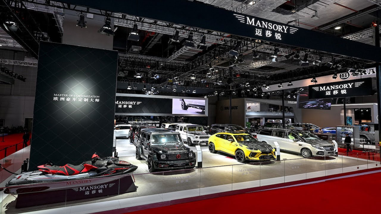Impressions from the Shanghai Motorshow 2021