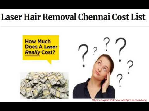 Laser Hair Removal Chennai Cost Price List Youtube