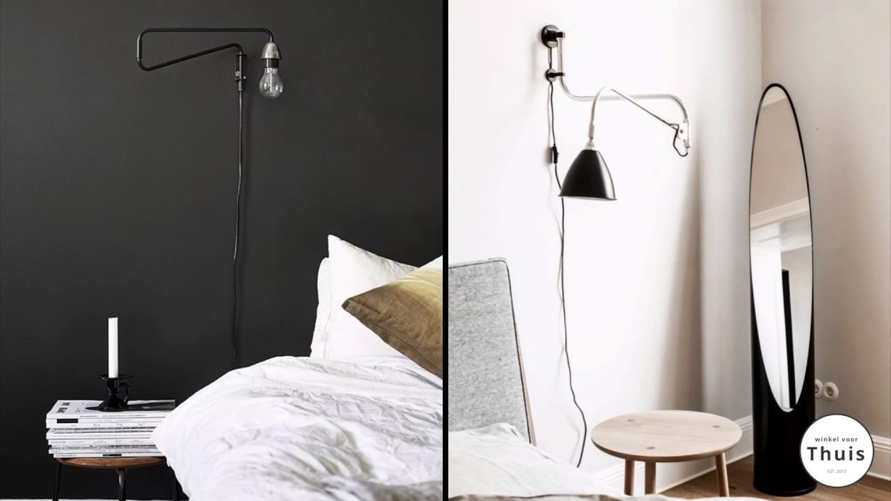 Slaapkamer inspiratie: wandlampen als sfeerverlichting - YouTube