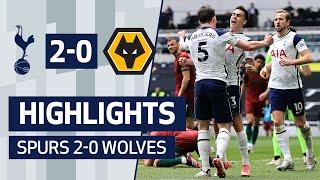 Kane & Højbjerg See Off Wolves! | HIGHLIGHTS | SPURS 2-0 WOLVES