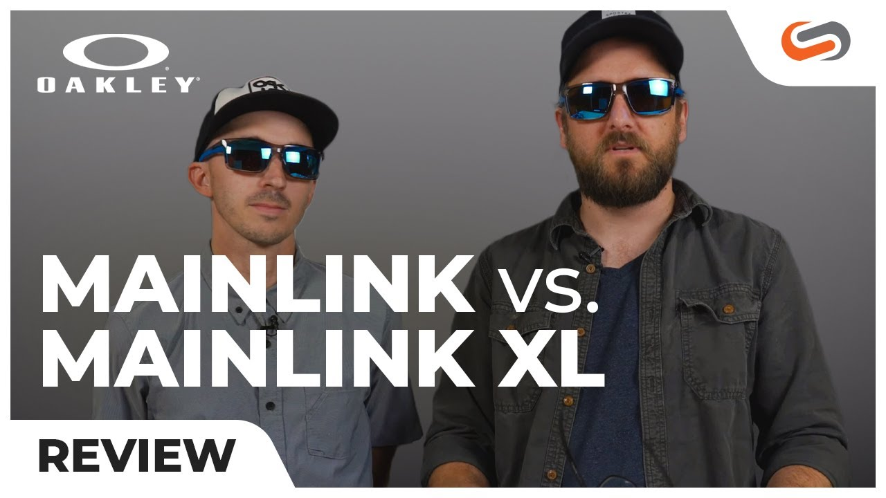 Oakley Mainlink Prizm >> Oakley Mainlink vs. Mainlink XL Sunglasses | SportRx - YouTube