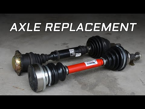 MK4 Volkswagen CV Axle Removal and Installation - YouTube