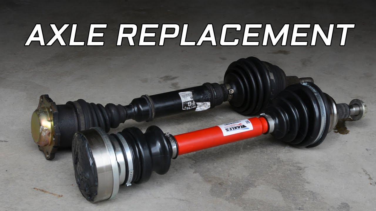 MK4 Volkswagen CV Axle Removal and Installation