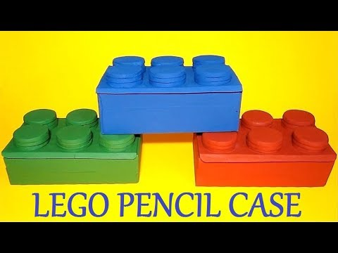 DIY Pencil Case | Back to School Craft | Recycled Crafts ...