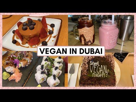 THE BEST VEGAN FOOD IN DUBAI | My favourite vegan restaurants in Dubai (PART 1)