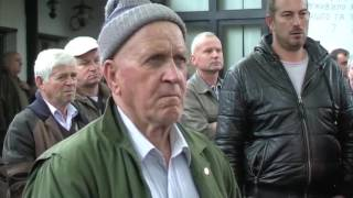 Teslic- Protesno  okupljanje lovaca 16 10