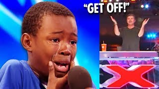Simon Cowell Buzzed Off Little Kid.. Then This Happens...