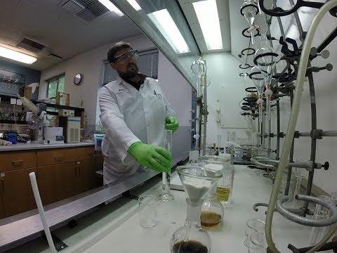CDFW's Petroleum Chemistry Laboratory