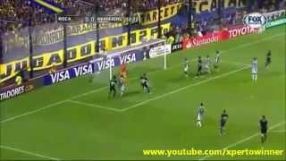 Boca Juniors 2 - 1 Montevideo Wanderers Copa Libertadores 2015