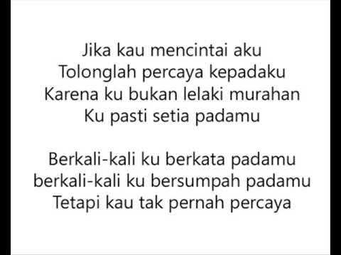 Jika Kau Percaya - Ahmad Bersaudara | Lirik Lagu
