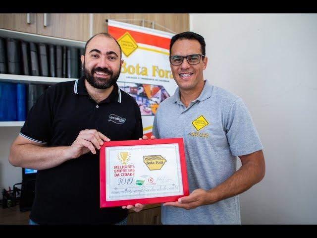 #EcolistaSJC - Melhores Empresas da Cidade 2019 - Bota Fora Caçambas