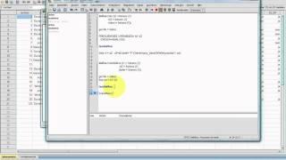 SPSS Video-Seminar #  Teil 62: Syntax 10 Makroprogrammierung