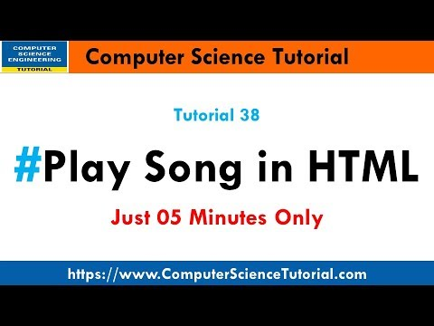Play Song In HTML