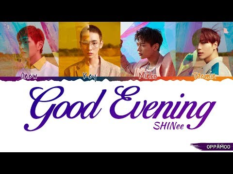 SHINee (샤이니) - 'Good Evening (데리러 가)' Lyrics (Color Coded Han-Rom-Eng)