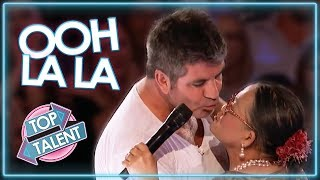 LOVE IS IN THE AIR | Judges & Contestants Get Flirty on America's Got Talent & American Idol