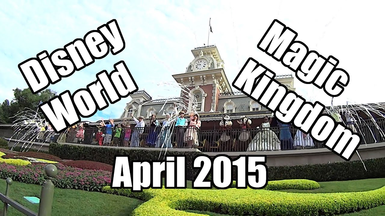disney world vlog magic kingdom april 2015 day 4 part