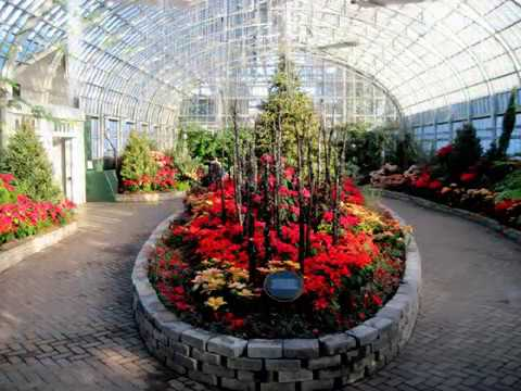Garfield Park Conservatory at Christmas 2017
