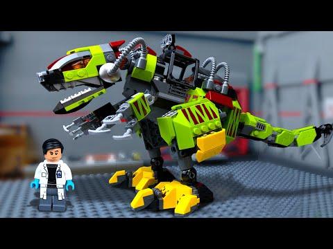 Дино- Робот против Динозавров (1) 🔴 ЛЕГО Мультики для Детей