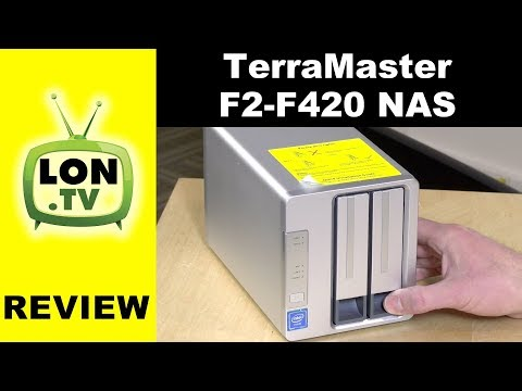 TerraMaster F2-420 / F4-220 NAS Review - $299 with Intel Processor