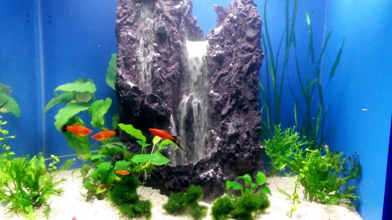 aquarium sand waterfall 16 youtube