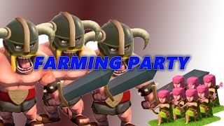 Clash of Clans - Barbarian and Archer party B.Y.O.B