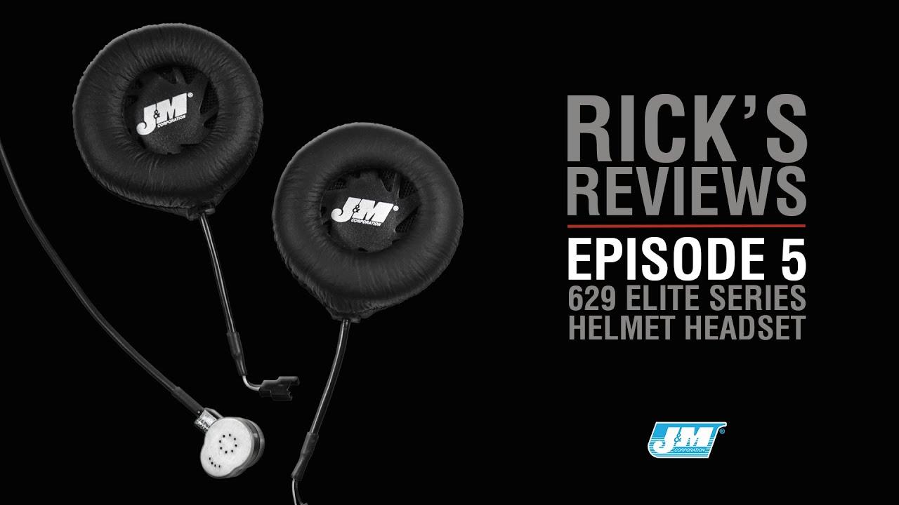 Ricks Reviews Episode 5 JM 629 Elite Headset I Goldwing Parts Accessories WingStuff