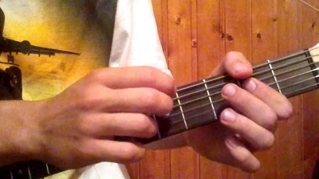 Spank thru guitar tablature