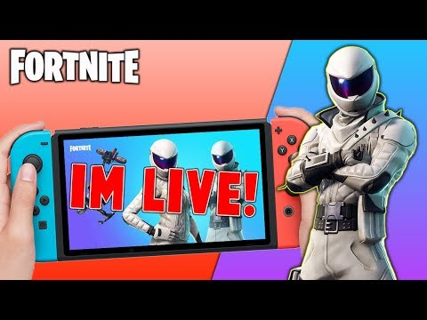 🔴 Pro Fortnite Nintendo Switch Player // Pro solo Matches // Wins Unknown // First Stream + Tips!!