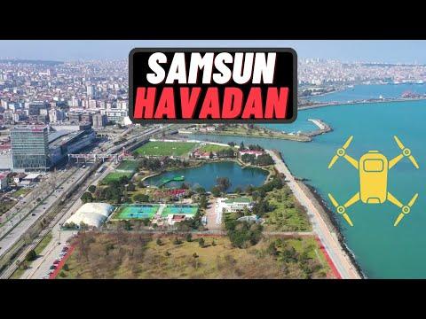 SAMSUN HAVADAN ÇEKİM | 4K Drone Görüntüleri | TURKEY-Samsun Drone View