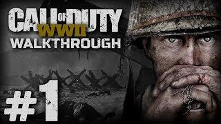Прохождение Call of Duty: WWII — Миссия №1: ДЕНЬ ВЫСАДКИ (Нормандия, Франция)