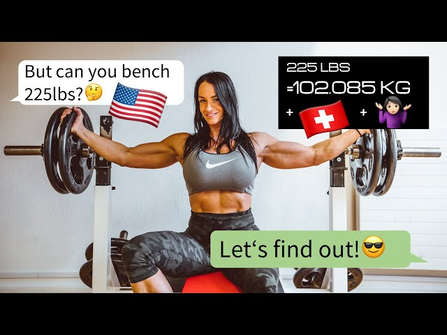 Can I Bench Press 225lbs? | Cindy Landolt