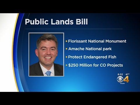 Cory Gardner Pushes Public Land Bill Which Passes U.S. Senate Mp3
