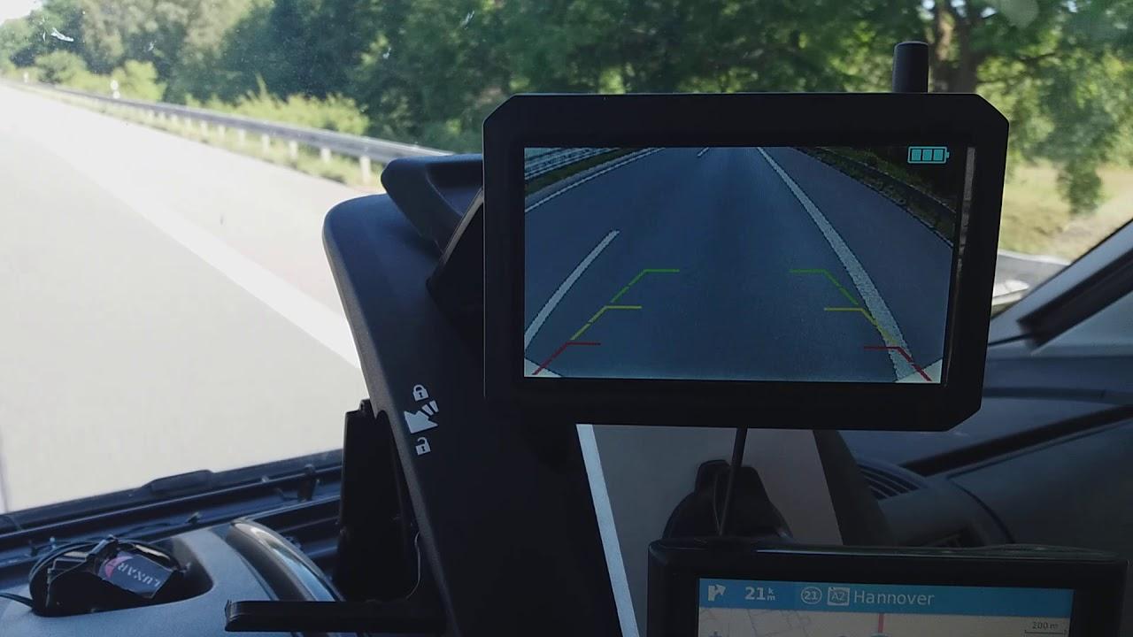Test Rückfahrkamera