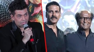 Karan Johar BEST REPLY On Robot 2.O Satellite Rights For 110cr | Rajinikanth, Akshay Kumar
