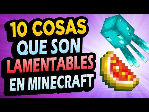 ✅ 10 Cosas LAMENTABLES de Minecraft!! #2