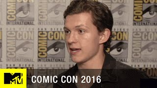 Tom Holland Gives Inside Look at 'Spider-Man: Homecoming' | Comic Con 2016 | MTV