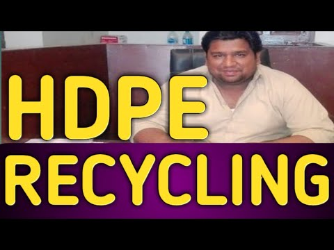 HDPE Recycling Business
