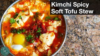 How to make Kimchi Spicy Soft Tofu Stew Recipe