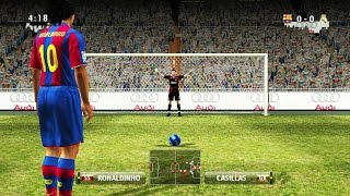 Penalty Kicks From PES 96 to 15