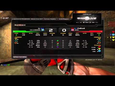 tox vs ZeRo4 - Quakecon 2014 Group B Round 3 (Quake Live VOD)
