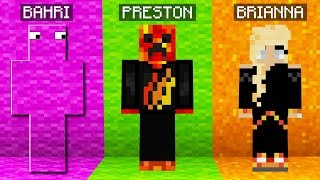 I HACKED In RAINBOW CAMO Hide & Seek To Beat Preston!