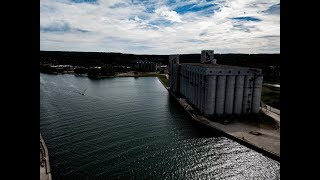 Grain Elevators Owen Sound - A Little History - By Mike Seiler