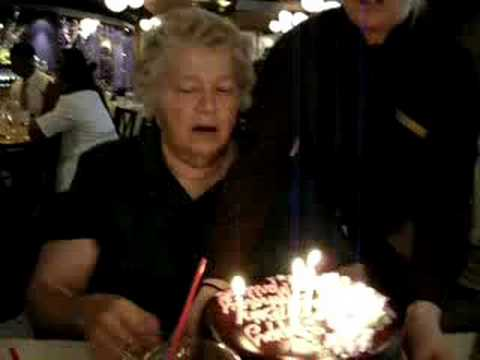 Moms 75th Birthday Party Gifts Cake Song