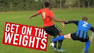 LOOK AT THE STRENGTH! | Brotherhood's Sunday League Football