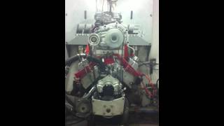 Blown 351 Cleveland  6/71 Supercharger Engine Dyno