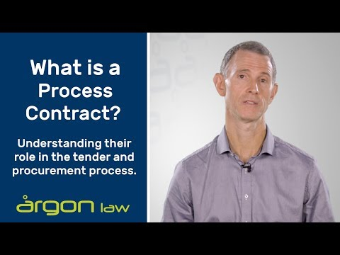 Process Contracts in Procurement | Legal Advice from a Sunshine Coast Commercial Lawyer