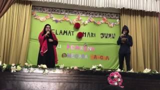 Pejamkan Mata - Malique ft. Dayang Nurfaizah LIVE cover hari guru 2017 cover