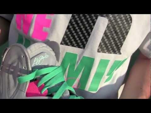Stickie213 - Nike Miami Vice Lebron 9 Elite South Beach