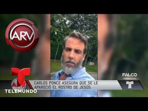 Carlos Ponce dice que se le apareció el rostro de Jesús  Al Rojo Vivo  Telemundo